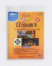 """EZ-Steam II, Two Sided Fusible Web for Applique, 5 Sheets, 9 x 12"""", by Pellon"""