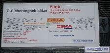 55 Stück  1A - 10A  5 x 20 mm Flink Keramik 250V Feinsicherungen Sortiment  55 x