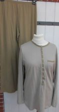 Schlafanzug -  Triumph - Gr.44 khaki-beige  - Neuware -