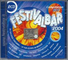 FESTIVALBAR 2004 BLU 1 (2004) 2CD NUOVO Dido. Eamon. Paolo Meneguzzi. The Corrs
