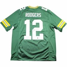 Aaron Rodgers Authentic Signed Green Bay Packers Green Twill Limited Nike Jersey