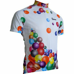 """Franklin Cycling Jersey / Balloon Vine / UK size XL(42-43""""chest) / Full Zip"""