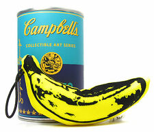 "Kidrobot ANDY WARHOL CAMPBELL'S SOUP CAN SERIES - PLUSH BANANA 4"" Mystery Mini"