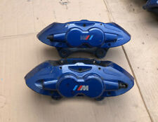 BMW M Performance front Brembo blue calipers f30 f20 M135i 340 340mm E90 Sport