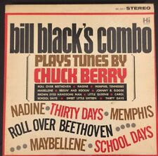 BILL BLACK'S COMBO Rare Vinyl Lp PLAYS TUNES BY CHUCK BERRY 1964 Hi Stunning!