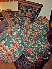 Vera Bradley 5 piece luggage set in retired GREENBRIAR--Includes XL duffel!  EUC