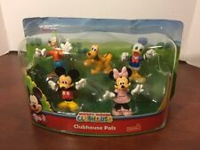 Disney Mickey Mouse Clubhouse Pals 5 Figure Set Minnie Donald Goofy Pluto Mickey