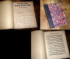 recueil d'études et exercices journaliers pour violon Dancla méthode de Depas