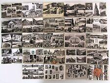 24 s/w Mehrbildkarten FRANKREICH Lot Sammlung Cartes Postales France ab > 1954