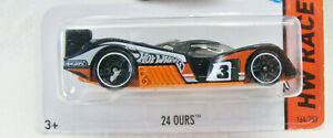 HOT WHEELS 2014 HW RACE #164/250 24 OURS - Orange/Black
