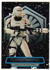 2016 Topps Star Wars Force Awakens Ser 2 Power of the First Order 6 Flametrooper