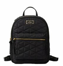 Kate Spade Small Bradley Wilson Road Quilted Backpack Black