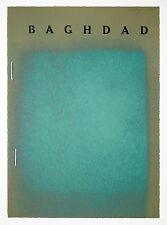 R.B. Kitaj: Baghdad, 1972.  Signed, Numbered, Color Screenprint, Fine Art Print.