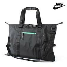 NEW Nike Black NSW Eugene Duffel Tote sport light weight Perfect for GYM Bag