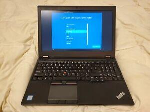 Lenovo P50 Laptop Computer (i7-6820HQ, 16GB RAM, Quadro M2000M, SSD, Win 10 Pro)