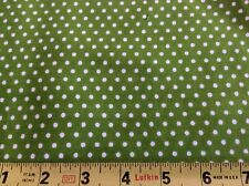 """Fabric Finders #Cd48 Lime Green /White Corduroy- 58""""W- 1 2/3 Yards"""
