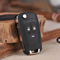 Uncut Remote Key Fob 3 Buttons 433MHz ID46 Chip for 2010-2015 Chevrolet Cruze