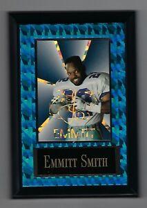"Vintage 1994 6.5"" x 4.5"" Card Plaque Emmitt Smith Dallas Cowboys #3"