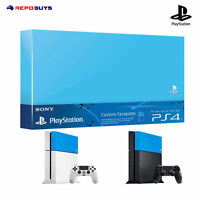 PS4 Custom Faceplate Genuine Sony PlayStation 4 Faceplate HDD Cover Aqua Blue