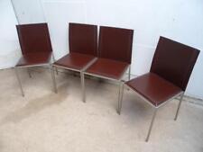 Leather Dining Chairs Original Italian Antique Furniture