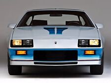 1982 Chevrolet Camaro Z28 t-top front  24 x 36 INCH POSTER, sports car
