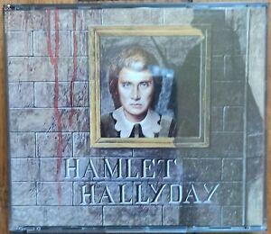 2xCD JOHNNY HALLYDAY Hamlet