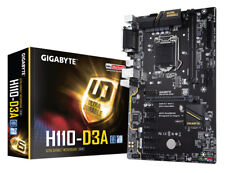 Gigabyte H110-d3a Intel H110 conjunto de chips placa base