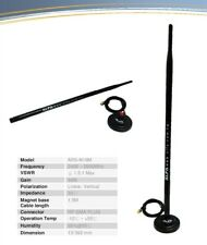 Alfa ARS-N19 + 2.4 Ghz 9dBi Wireless Wi-Fi RP-SMA Dipole Omni Antenna + Magbase
