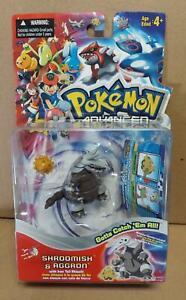 Pokemon Advanced Shroomish & Aggron Figure Pack HASBRO 2003 New