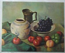 """Still Life"" by Henk Bosl, 8x10"", Winde Fine Prints"