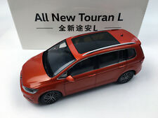 1:18 Shanghai Volkswagen All New Touran L Orange Die-Cast Metal Model