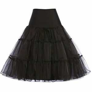 "RULTA 26"" Retro Net Underskirt 50s Swing wedding Petticoat Rockabilly Tutu M1"