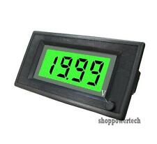 ON/OFF 12V DC Green LCD Digital Auto Battery Solar Panel Voltmeter Power 6-24V