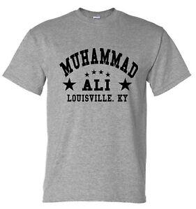 Muhammad Ali Boxing Cassius Clay Training Gym T-shirt