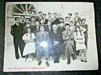 foto originale R. LICEO GINNASIO UMBERTO I° RAGUSA III^ B 1938-39