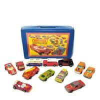 Vtg 1980 MATCHBOX Official Collector Case Holds 24 Models/Cars w 12 CARS