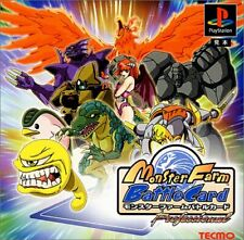 Usé PS1 Ps PLAYSTATION 1 Monster Ferme Battle Carte 00229 Japon Import