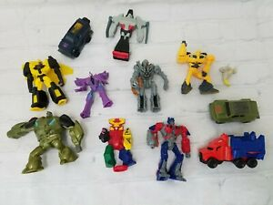 Transformers Action Figures MacDonald's Happy Meal Toys Lot of 11