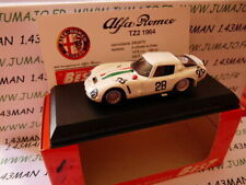 BES3H voiture1/43 BEST : ALFA ROMEO TZ2 Monza 1967 blanche #28