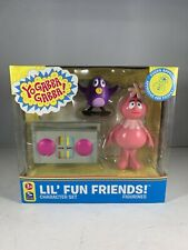 Yo Gabba Gabba Foofa Lil' Fun Friends Character Figure & Accessory Set 2008