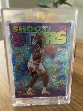 1997-98 Topps Michael Jordan Shooting Stars Refractor #6 Seasons Best ~ MINT!
