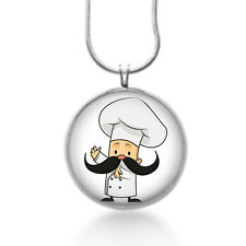 Chef  Necklace cute Pendant, baker ,gifts for women, statement jewelry