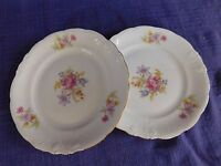 Royal Kent RKT5 PAIR of BREAD PLATEs have more items (Poland) Purple Pink