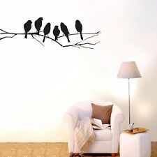 LARGE TREE BRANCH Birds Wall Decor Removable Vinyl Decal HOME Sticker Art Mural