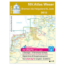NV DE 12, Nordsee - Weser, Bremen - Helgoland, Jade # Atlas App PC Software