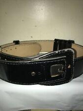 Mixson 7138 Leather Buckle Size 36 38 Adjustable Hook Lined Police Belt