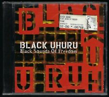 BLACK UHURU 1999 OOP CD SEALED Black Sounds of Freedom REGGAE dUb LOVE CRISIS lp