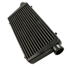 Universal Front Mount Intercooler Tube and Fin 600x300x76 3inch In/outlet BK