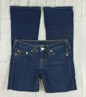 True Religion Women's Size 27 Flare Leg Dark Wash Jeans