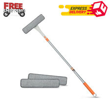 Window Squeegee Cleaner Kit 48'' Extendable Car Window Cleaner Tools, 2 in 1